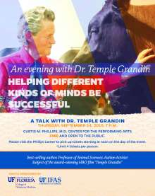 Temple Grandin Save the Date