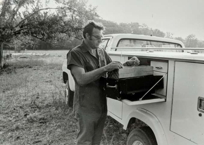 Dr. Ken Braun, mobile truck