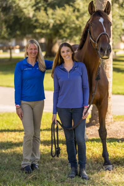Dressage champion horse beats odds, is back in the show ring